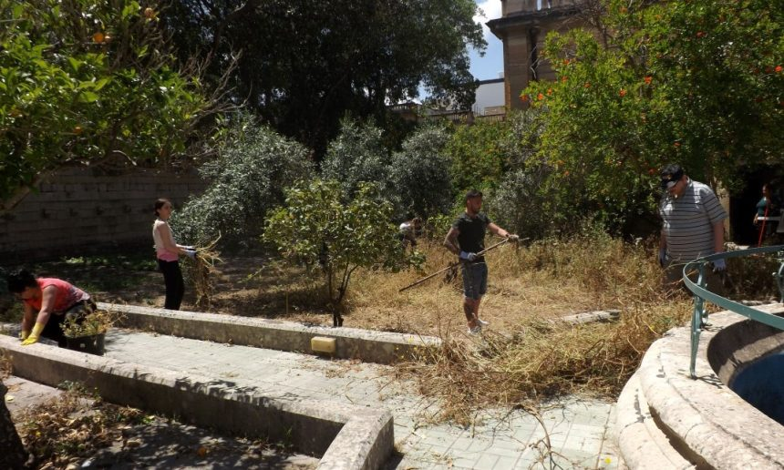 Therapy through Nature project kicks off with gardening workshop & clean-up