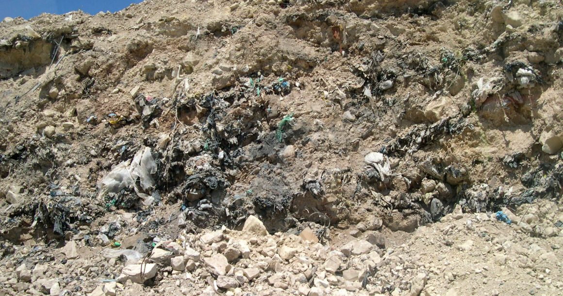 Temporary landfills should be avoided