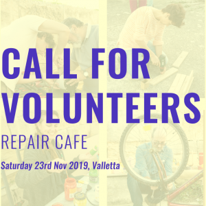 Repair Cafe – Volunteers Needed