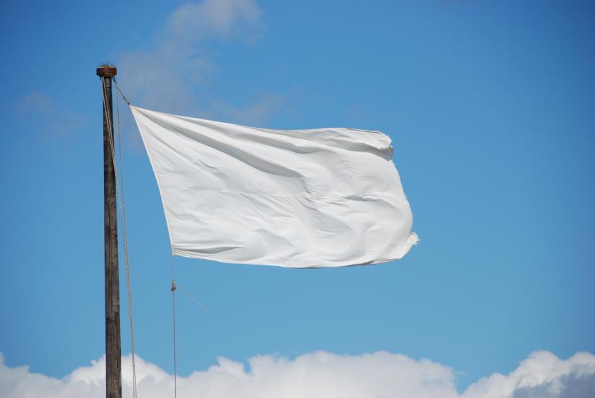 The white flag scheme saga