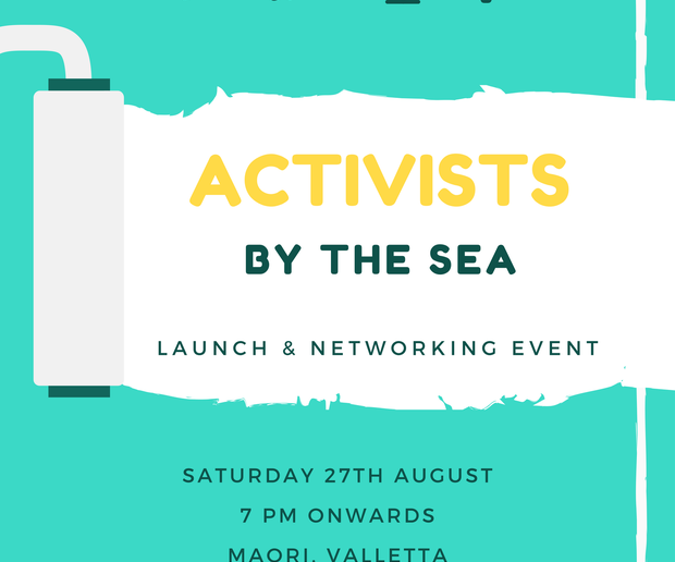 'Activists by the Sea' –  Launch and networking event