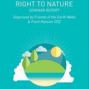 'Right to Nature – Inspiring Active Citizenship' report launched