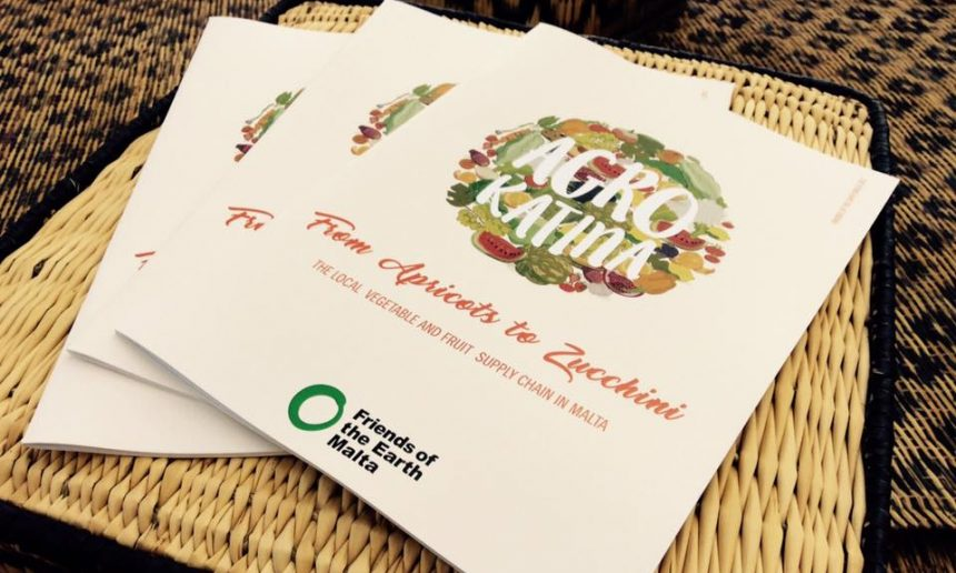 Friends of the Earth Malta launch the Agro Katina Report