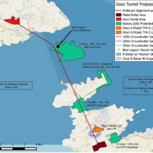 Malta-Gozo tunnel – organisations call for total transparency and law observance