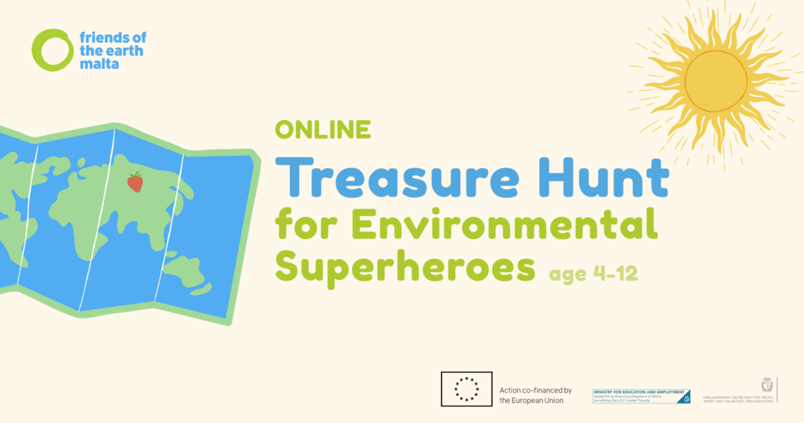 Treasure Hunt for Environmental Superheroes