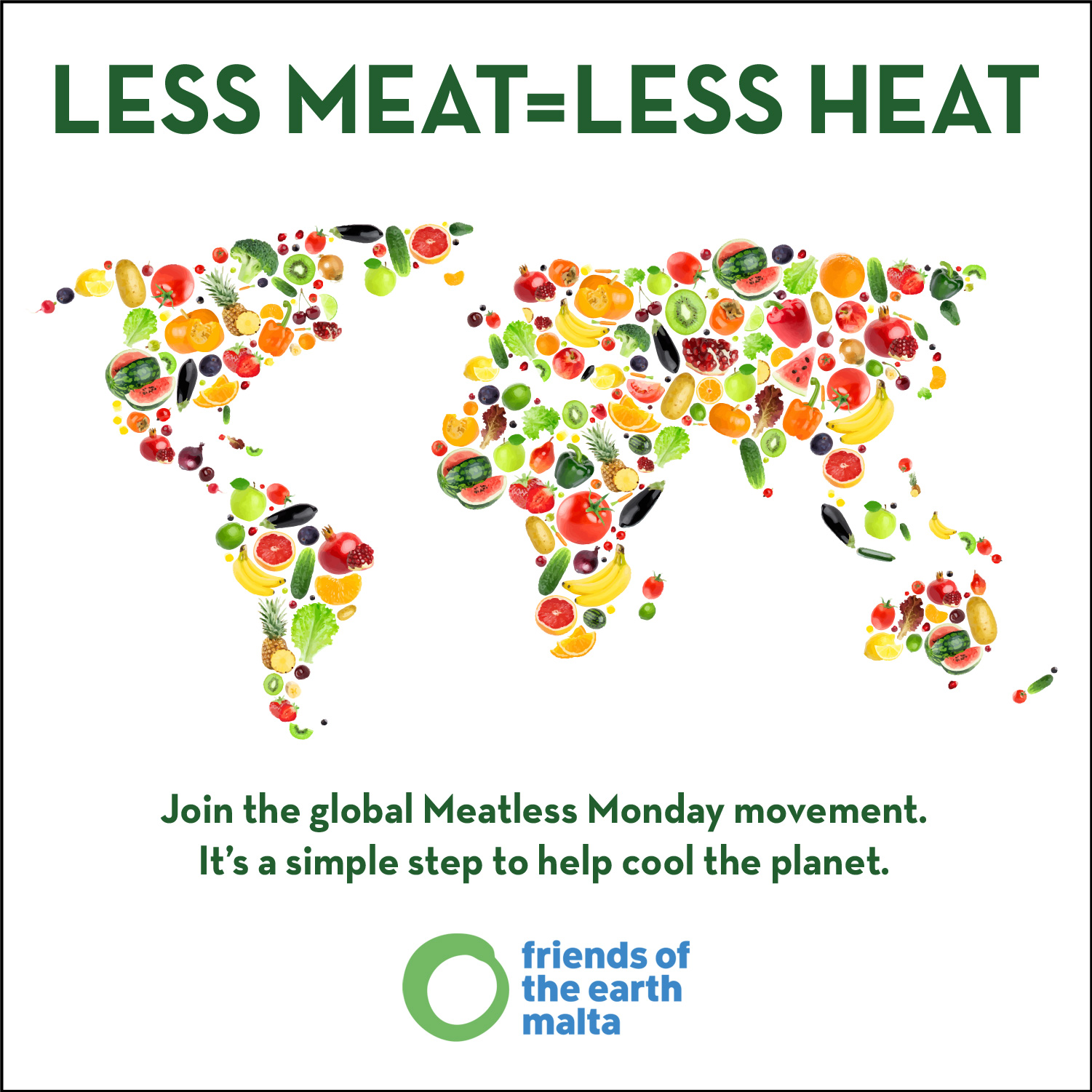 Less Meat - Less Heat