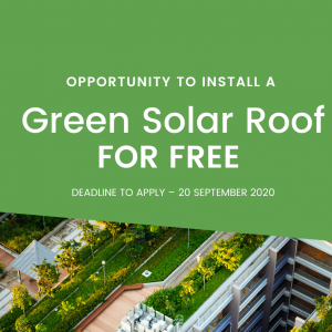 Green Solar Roof — Expression of Interest