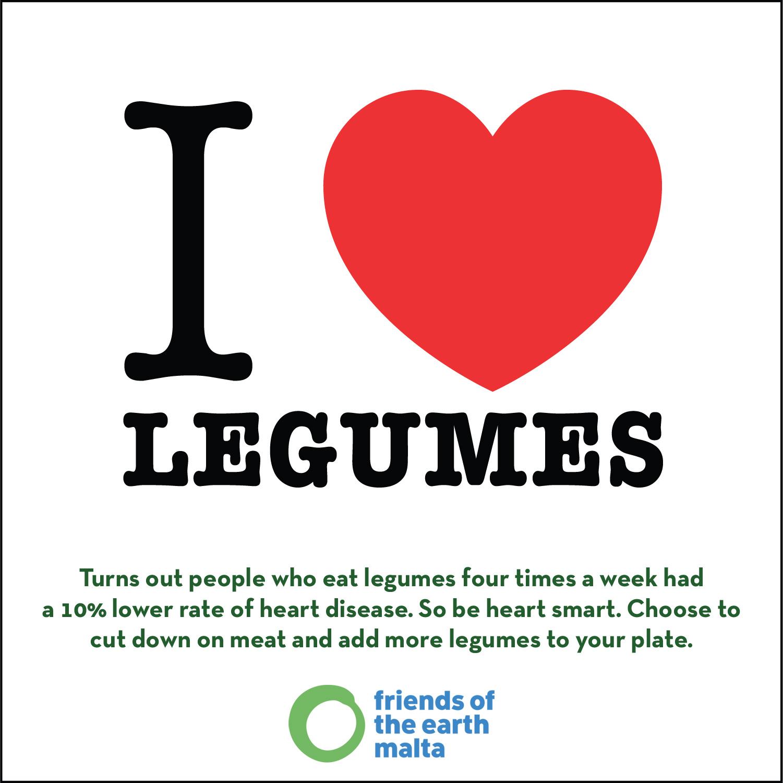 I love legumes