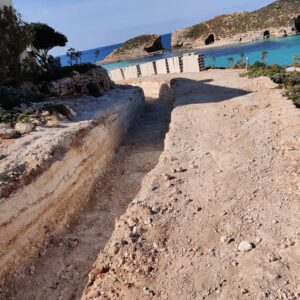 Illegal Comino Roadworks – Cowboys everywhere you look…