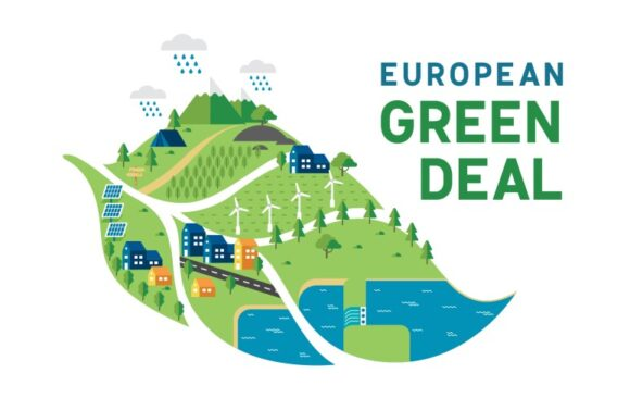 The European Green Deal's ambition to reach carbon neutrality by 2050