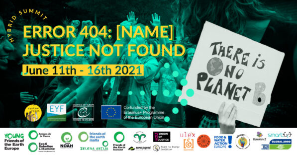 Youth Gathering on the European Green Deal and Climate Justice!