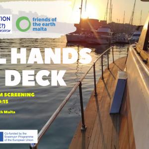 All Hands on Deck – A short Film Screening