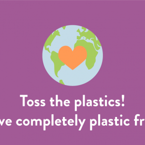 Plastic free pledge – Reduce plastic now!