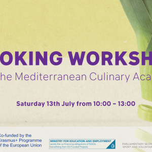 Sustainable Cooking Workshop with Mediterranean Culinary Academy