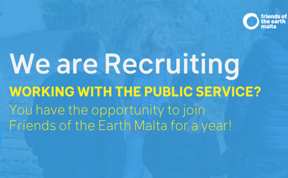 VACANCY: Working with the public service? Want to be seconded with us?