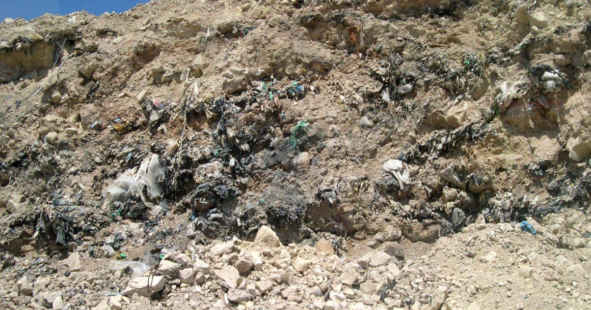Temporary landfills should be avoided
