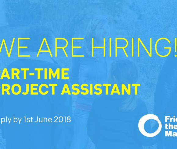 Project Assistant (Part-time) Ref:1803