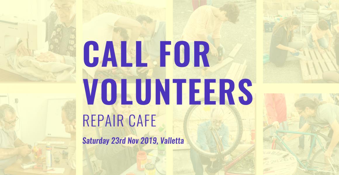Repair Cafe – Volunteers Needed