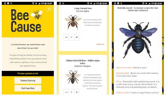 Bee cause app