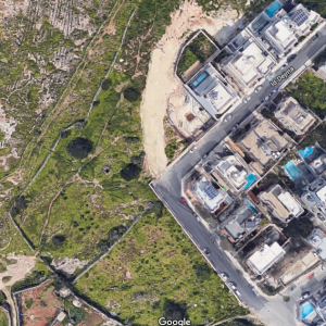 Natura 2000 site candidate at Tal-Wej at Mosta, under threat