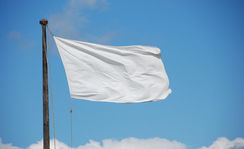 The white flag scheme saga